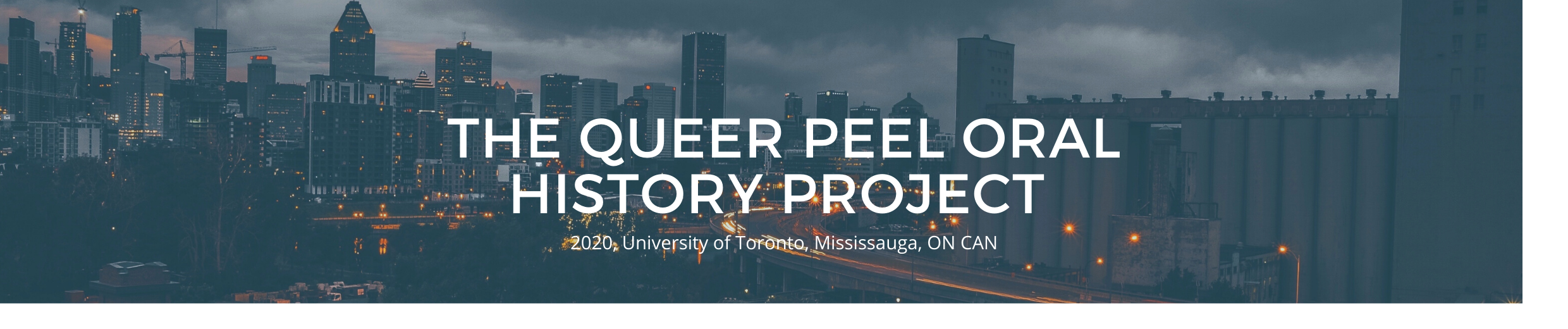 Queer Peel Oral History Project